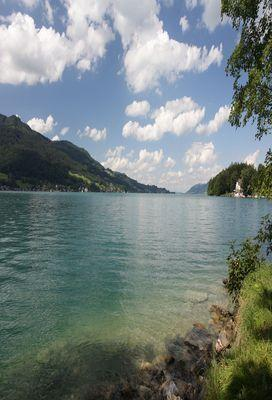Attersee Serie: Der Attersee bei Seefeld